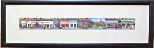 West End, Great Western Road, Glasgow. Giclee, Viewfield Gallery, 2010. Fra