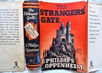 The Strangers' Gate, E. Phillips Oppenheim, Hodder and Stoughton, 1940. 1st Edition.