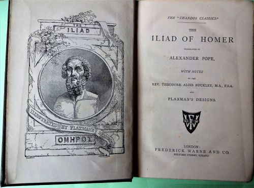 The Iliad of Homer, Translated by Alexander Pope, The Chandos Classics, Fre