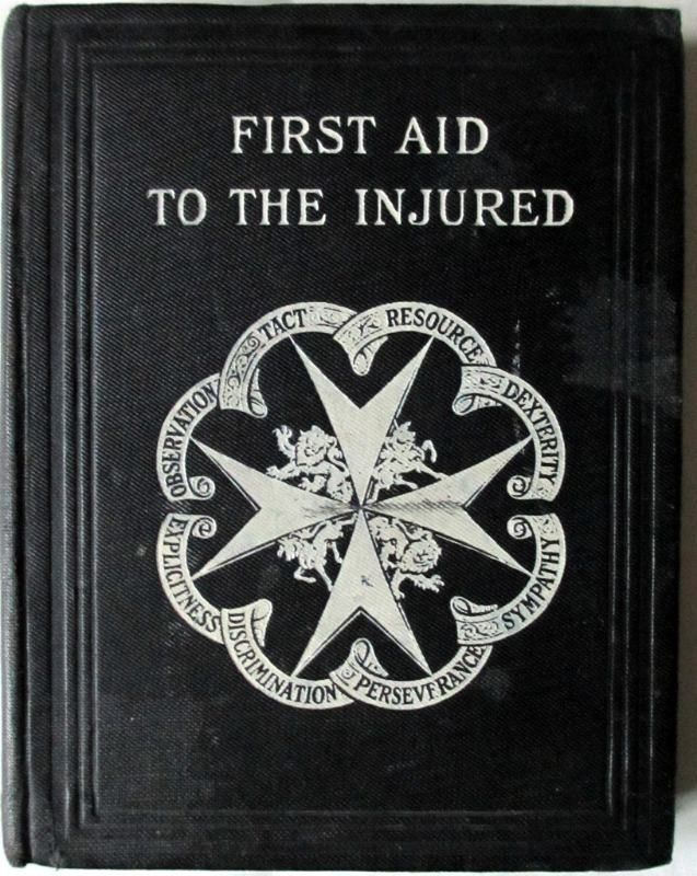 First Aid to the Injured, 1920.