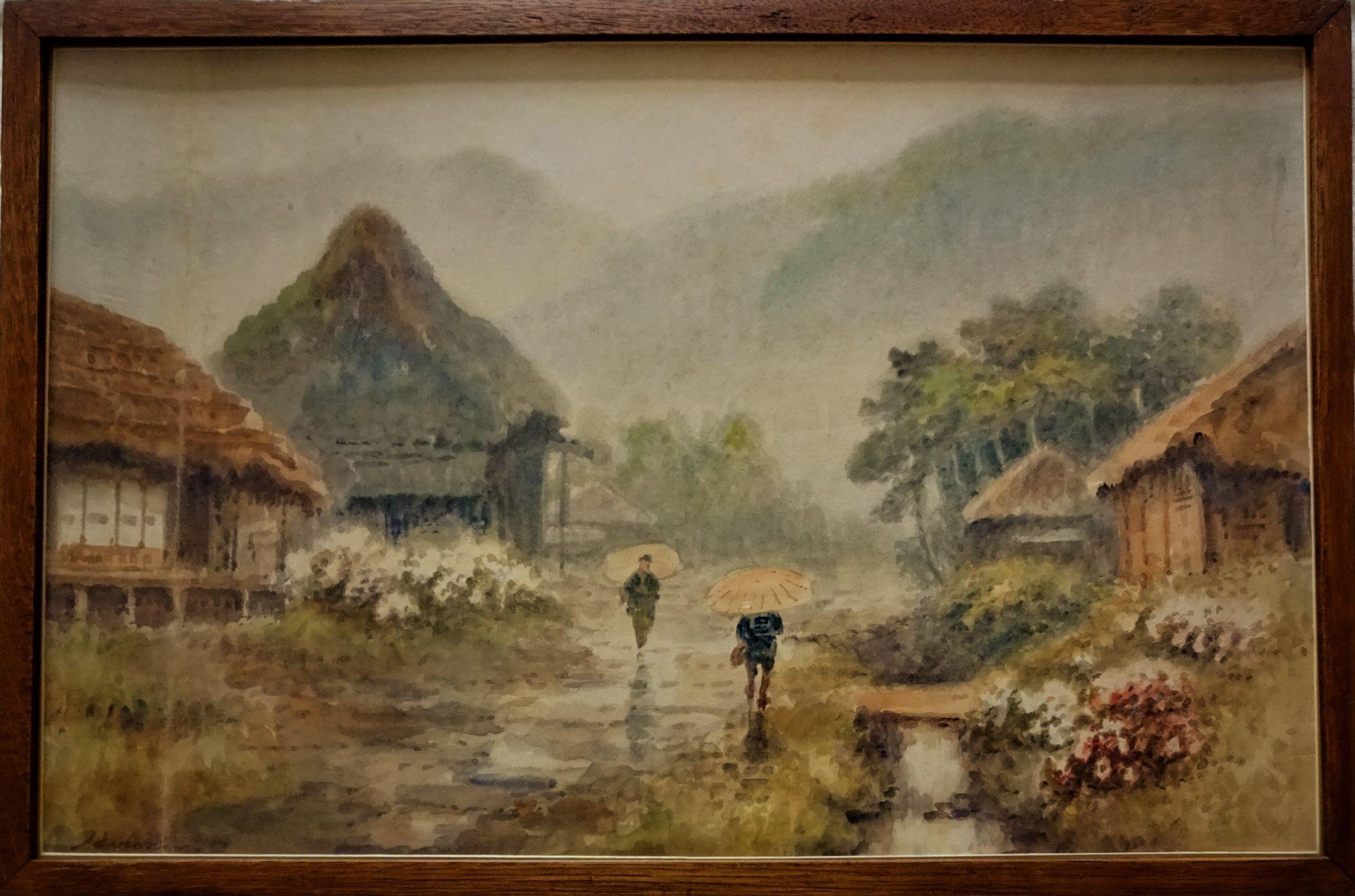 Hiroshi, c1902, watercolour, Nihonga School.
