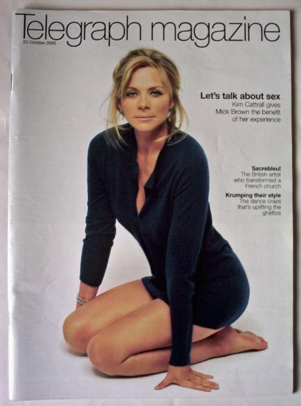 Telegraph Magazine 22 October 2005