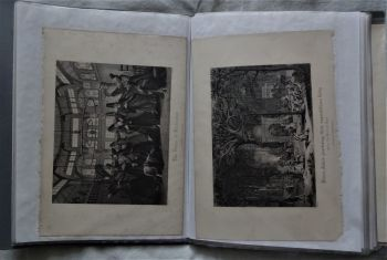 Collection of Religious and Topographical Engravings, S. Asian, Mid-East, E. Asian, c1870.