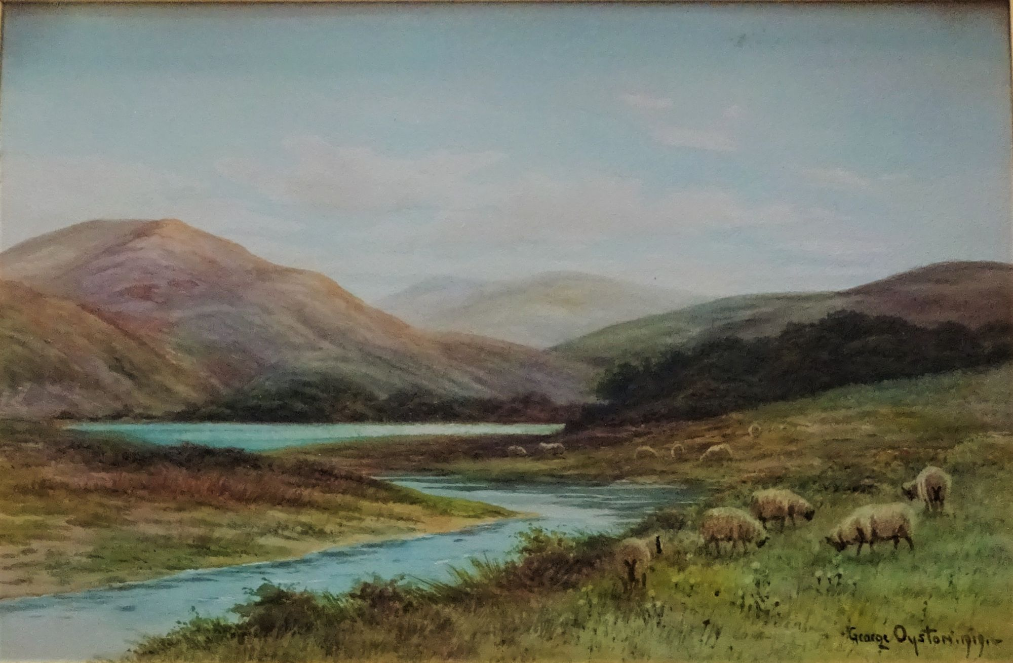 George Oyston, Near Loch Vennacher  1919.