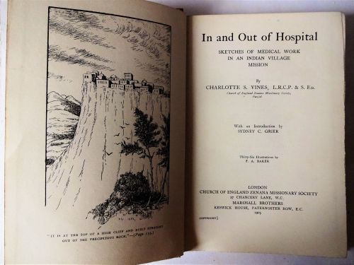 In and Out of Hospital, Charlotte S. Vines,  1905.