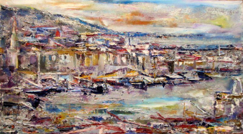 Girne Harbour, N. Cyprus, S. Mustafa 1988.