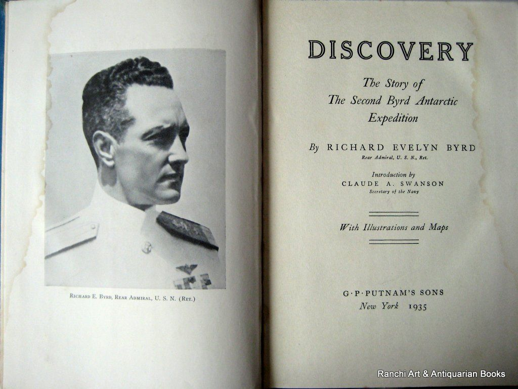 Discovery, RE Byrd, 1935
