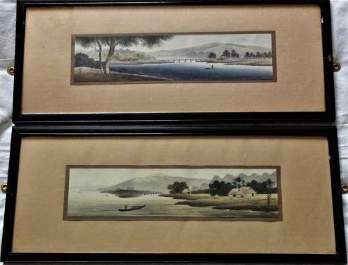 Japanese woodblock prints, c1920.