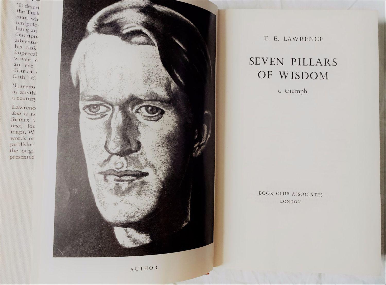 Seven Pillars of Wisdom, TE Lawrence, BCA, 1973.
