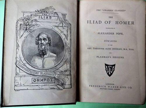 Illiad of Homer, 1883.