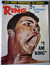 THE RING APRIL 1964 VOL XLIII NO 3.   SOLD.