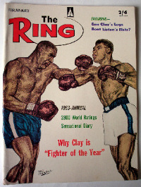 THE RING FEBRUARY 1964 VOL XLIII NO 1   SOLD.
