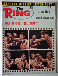 THE RING MARCH 1964 VOL XLIII NO 2.  SOLD.