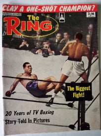 THE RING NOVEMBER 1964 VOL XLIII NO 10.   SOLD.