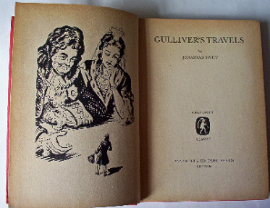 Gulliver's Travels by Jonathan Swift  1965  First Edition.