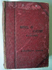MANUAL OF ANATOMY BY BUCHANAN INCLUDING EMBRYOLOGY FIFTH EDITION 1925