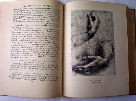 Study of hands.