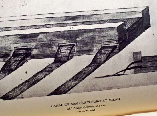 Canal construction.