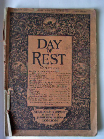 DAY OF REST, AUGUST 1881, NEW SERIES, PUBLISHED BY STRAHAN & CO LONDON.