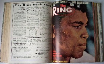 THE RING, JULY 1962 TO DECEMBER 1963, 18 MONTHS BOUND IN ONE VOLUME.     SOLD.