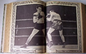 BOXING ILLUSTRATED WRESTLING NEWS JANUARY - DECEMBER 1963, FULL YEAR IN ONE VOLUME.   SOLD.