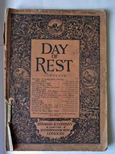 Day of Rest magazine front cover