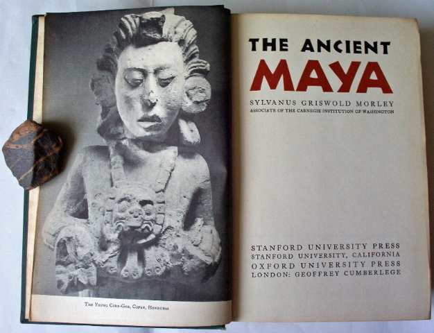 Title page and Copan Honduras facing.