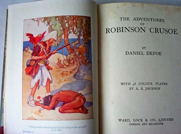 an analysis of the adventure in robinson crusoe by daniel defoe Home → sparknotes → literature study guides → robinson crusoe robinson crusoe daniel defoe table of contents how to write literary analysis.