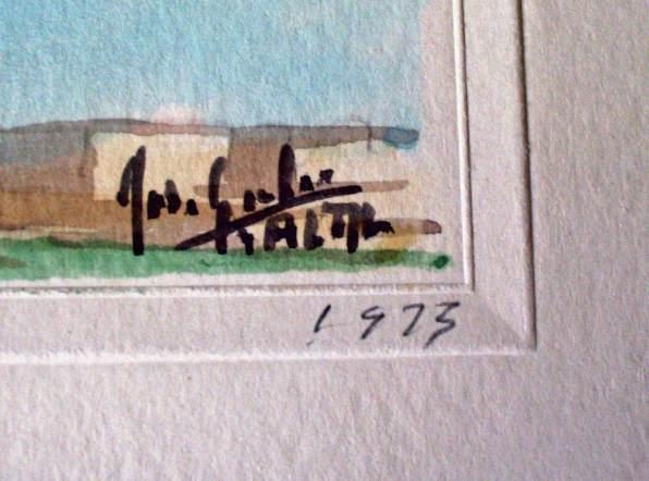 Signature and date