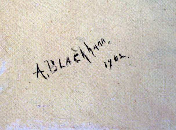 A. Blackham signature