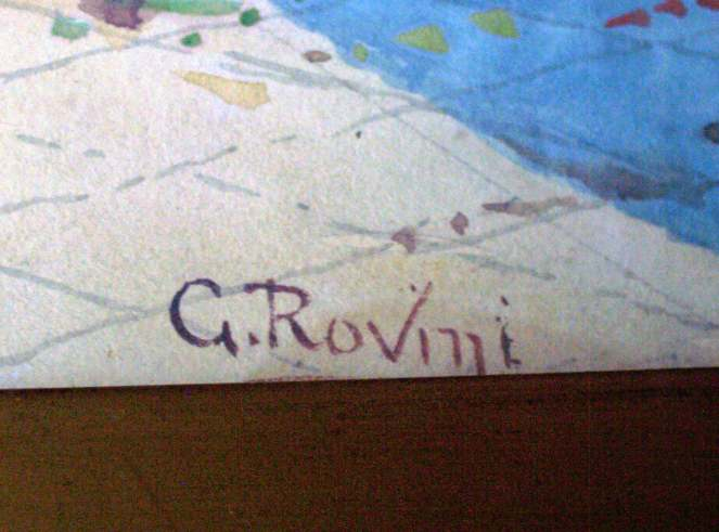 G. Rovini signature