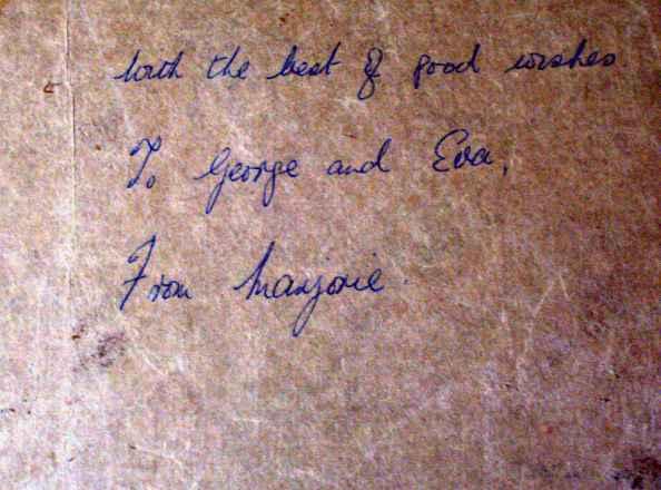 Artist's note.