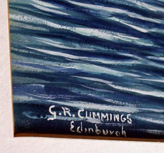Signature G.R. Cummings Edinburgh
