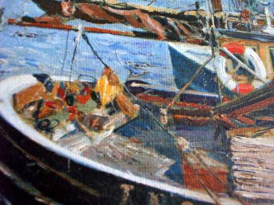 Boat details.
