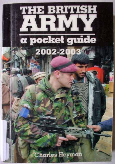 British Army pocket book 2002-2003