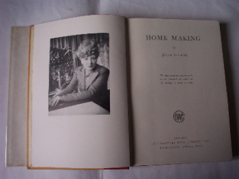 Home Making by Julia Cairns, The Waverley Book Company London, 1st Edition, 1950.