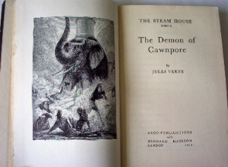 The Steam House (Part I) The Demon of Cawnpore by Jules Verne.