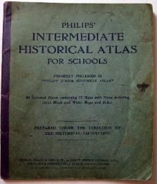 Philips' Intermediate Historical Atlas for schools, George Philip & Son Ltd. 1938.
