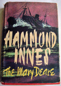 The Mary Deare by Hammond Innes, published by Collins, 1956.