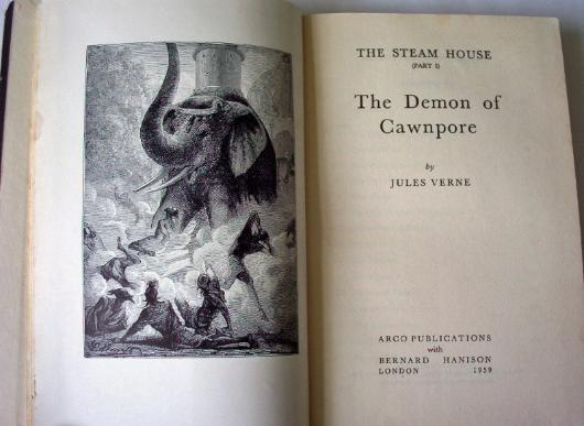 The demon of Cawnpore byJules Verne