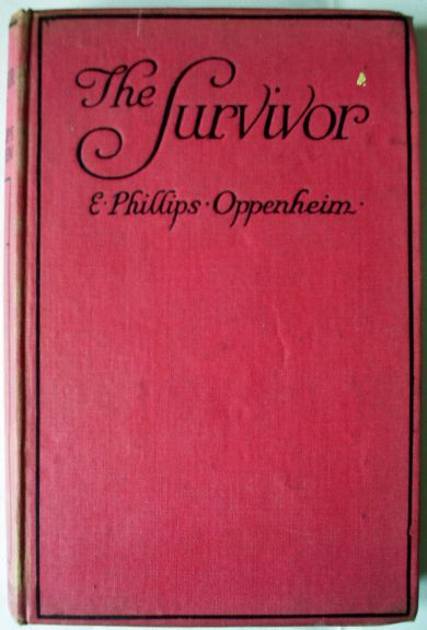 Crime novel by E. Phillips Oppenheim 1918