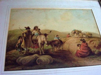 The Gipsies by George Warwick Smith of Derby c1810.