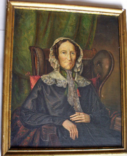 "Johanna Margaretha Sang (formerly thought to be Miss Elizabeth ""Aunt"" Branwell) by unknown, late 19th C.   SOLD."