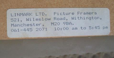 Framer's label.