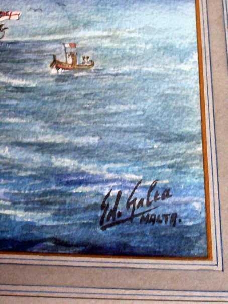 The signature.