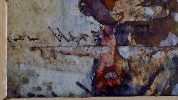 Another view of the signature.