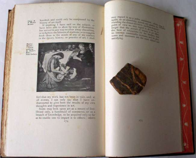 p274 with illustration Madox Brown.. facing final p275.