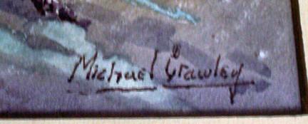 Artists's signature lower rh corner.
