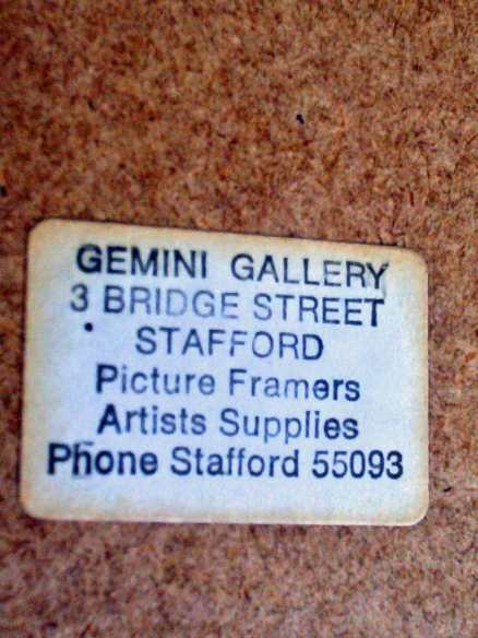 Framer's label attached.