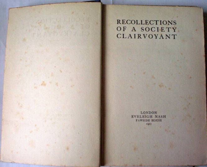 Title page and facing front e/p.